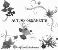 Autumn Ornaments by Lileya