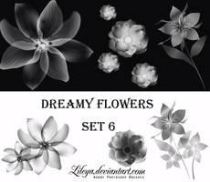 Dreamy Flowers set 6 by Lileya