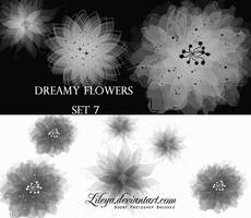 Dreamy Flowers - set 7 by Lileya