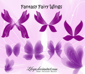 Fantasy Fairy Wings set 3