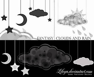 Fantasy Clouds and Rain