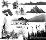 Landscape brushes