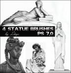 Statue brushes