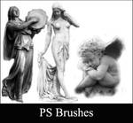 Statue Brushes - set 2