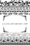 Ornamental frames - set 2