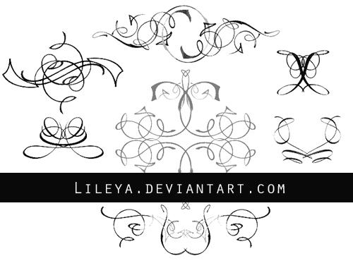 - Ornamental dividers set 2 -