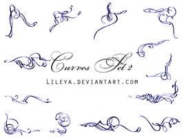 Curves - set2 by Lileya