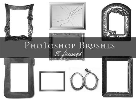 Frame Photoshop brushes