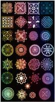 Indian ornaments - set 2