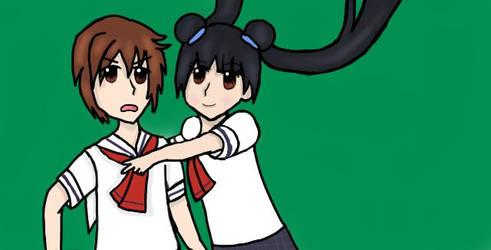 Li and Mei-lin by SunnySenshi