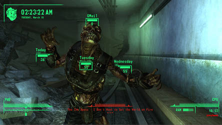 Fallout V.A.T.S.