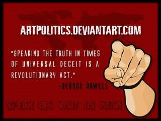 Artpolitics banner 2