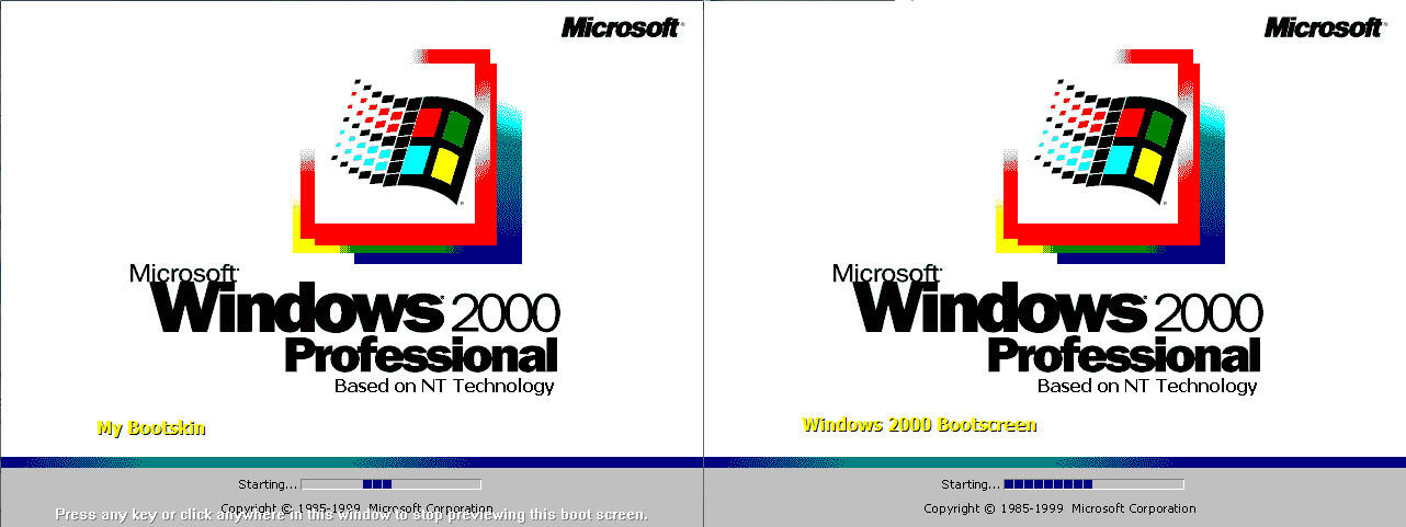 Windows 2000 Bootskin XP by mariomj71099 on DeviantArt: mariomj71099.deviantart.com/art/Windows-2000-Bootskin-XP-163683342