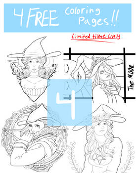 National Coloring book Day Bundle (free for 1week)