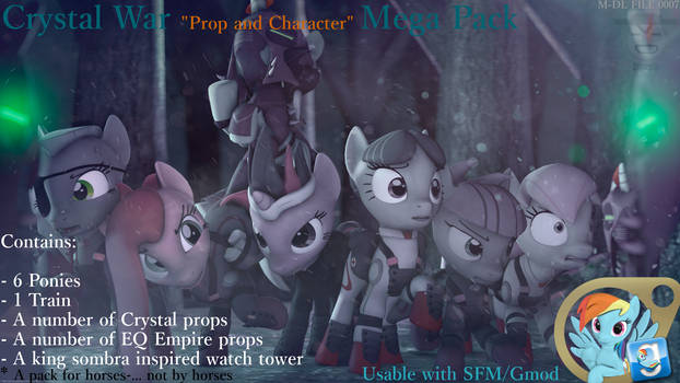 DL:7 - Crystal War Mega pack - [SFM/GMOD DL]