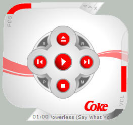 Coca-Cola SpinPlayer by skinnyfatso
