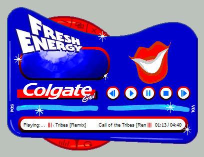 Colgate Gel FreshPlayer by skinnyfatso