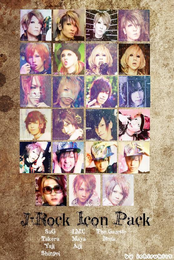J-Rock Icon Pack by IchiRuki17