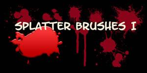 Splatter I Brushes