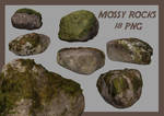 Mossy Rocks Pack