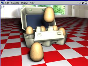 Dancing Eggies Animation
