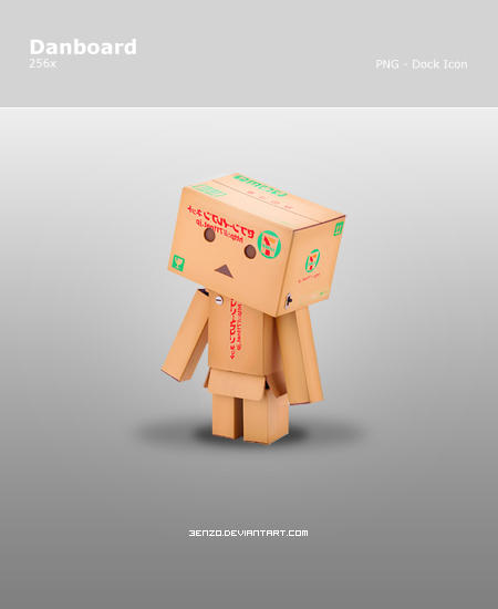 Danboard - Dock Icon by 3enzo