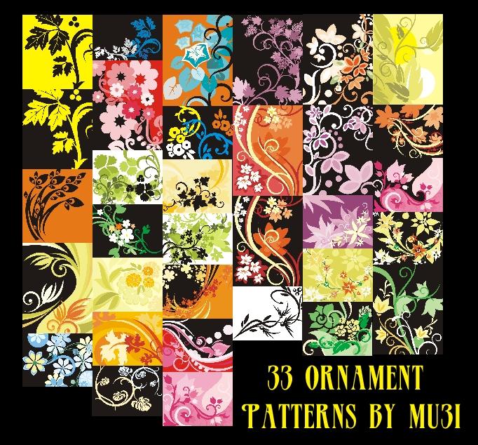 33 Ornament Patterns