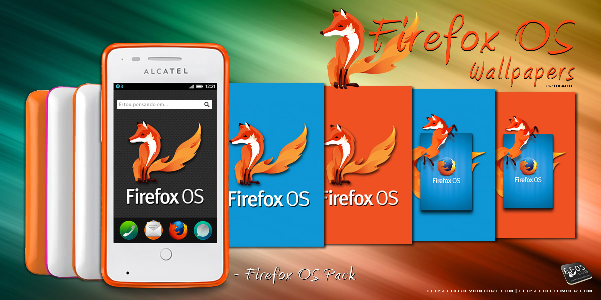 Firefox OS Wallpaper - FFOS Pack by quen-quen