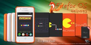 Firefox OS Wallpaper: Pac-Man Pack
