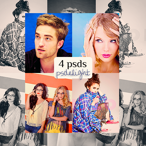 4 PSDs by belle-liberte