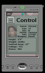 Axim ID by control