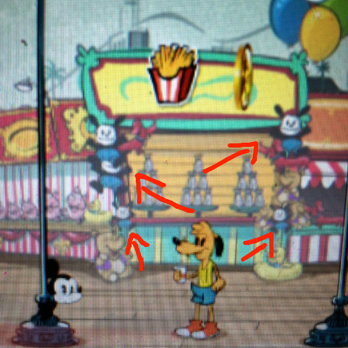 Oswald Cameo In Hidden Mickey Online Game By Sonicboyant On Deviantart