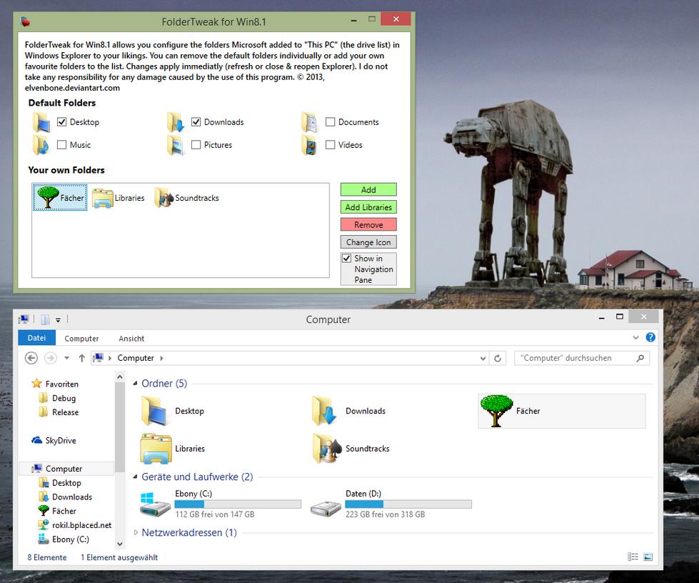 FolderTweak for Win8.1 by Elvenbone