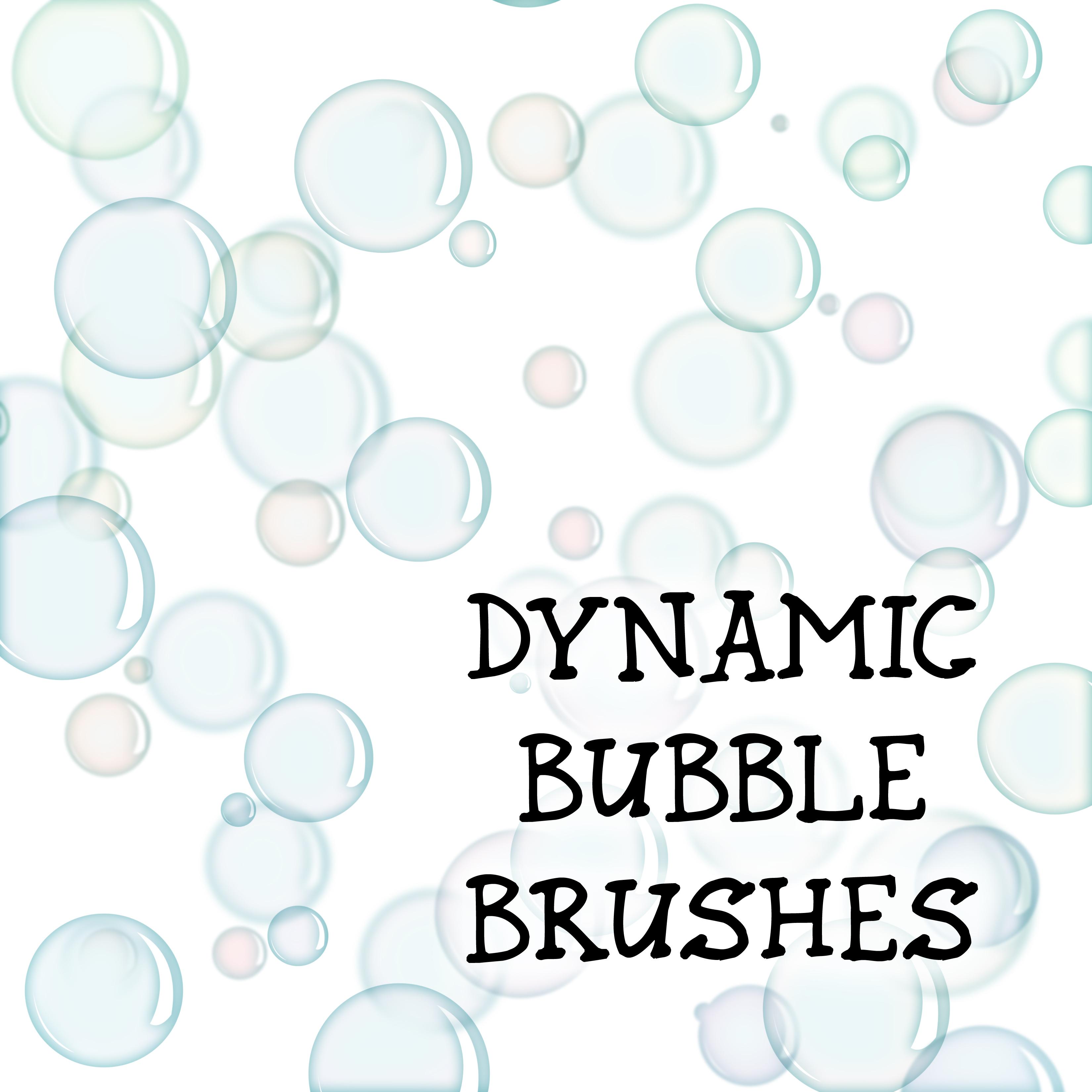 Dynamic Bubble Brushes