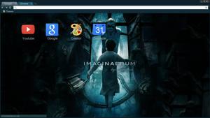 Imaginaerum-Nightwish Chrome Theme 1600x900