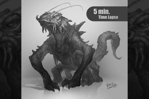 creature value study