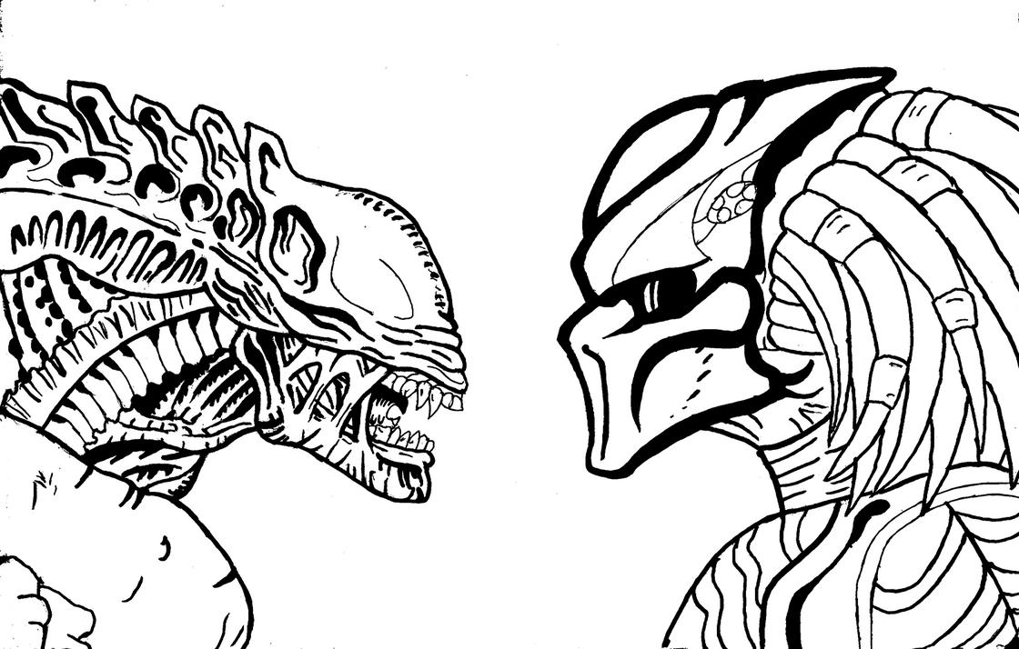 Is alien vs predator by dragokaiju2000 on deviantart