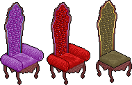 Remappable Throne Armchair by Misbehave