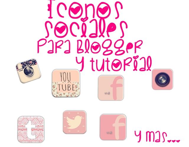 Iconos Sociales by LaliCreative
