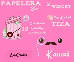 PapeleraKawaii by LaliCreative
