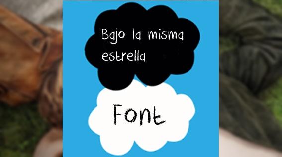 -Bajo La Misma Estrella Font by LaliCreative