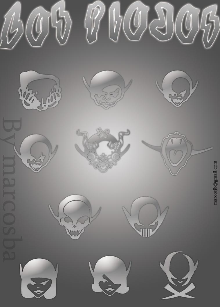 Los Piojos Logos by marcosba