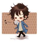 Sherlock with cigarettes