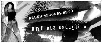 Brush strokes by HRecycleBin