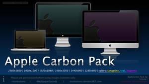 Apple Carbon Wallpaper Pack