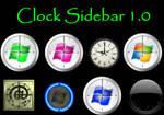 Clock Sidebar 1.0