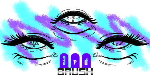 3rd Brush by Monstraus for Gimp