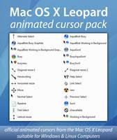 Mac OS X Animated Cursor Pack by uselessdesires