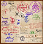 Postmarks CS3 Brushes