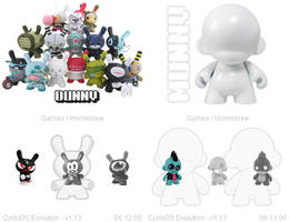 Munny and Dunny CycloDS Skins by JohnTheJohnMan